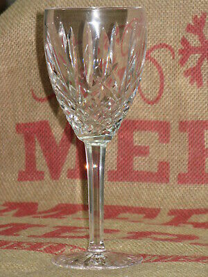 WATERFORD ARAGLIN Wine CRYSTAL STEMWARE GLASS - Excellent Condition - 7-7/8""