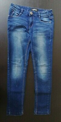 Girls Blue Skinny Jeans Pants From Peacocks Size 10 Years Pre-owned