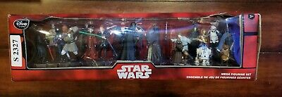 Disney Store Star Wars 20 pc Mega Figurine Set NIB