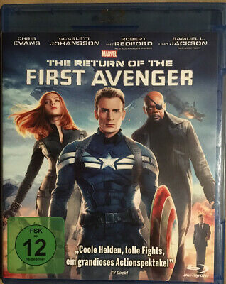 Marvel  Captain America - The Return of the First Avenger - Blu Ray- Neuwertig