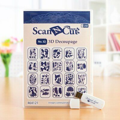 ScanNCut USB No 32 3D Decoupage