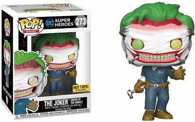 Funko Pop DC Super Heroes The Joker #273 (Death of the Family) Hot Topic Excl.
