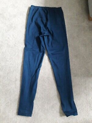 Blooming Marvellous at Mothercare blue maternity jeggings size 10R.