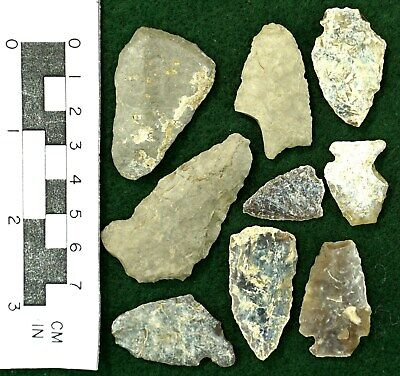 Arrowheads from Souteastern Montana * Personal Finds *