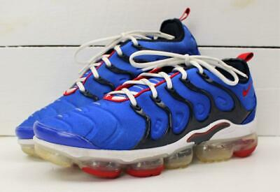 2019 Nike Air Vapormax Plus Mens Max Blue Red White Shoes Size 12
