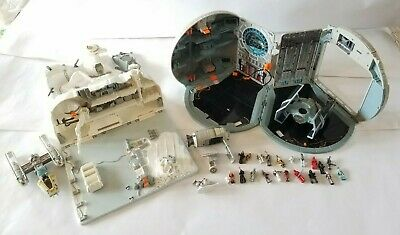 Star Wars Action Fleet Micro Machines Death Star and Hoth Playset 1996