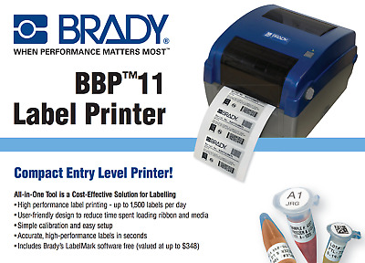 Brady BBP 11 Label Printer