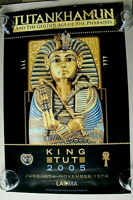 King Tut - TUTANKHAMUN EXHIBITION - Los Angeles 2005 - 24x36 Souvenir Poster