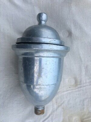 Vintage Coffee Grinder Hopper Hobart Enterprise Antique Aluminum