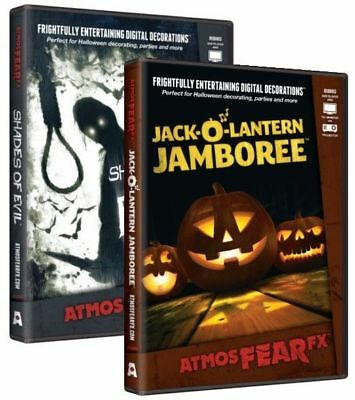 AtmosFEARfx Jack-O-Lantern Jamboree AND Shades Of Evil 2 DVD Set
