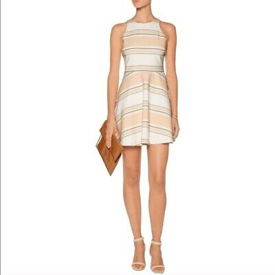 Elizabeth and James Women's Striped Magdalena Dress Size 2 Fit and Flare
