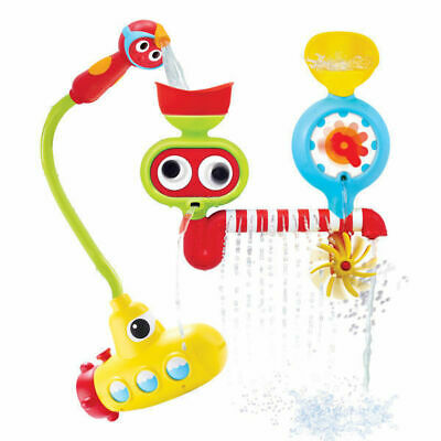 Baby Bath Toy Submarine Spray Station Battery Operated Water Pump Yookidoo Toys