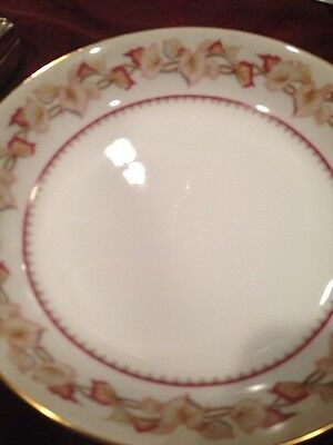 "Four 7.5"" Vint. Narumi Bone China Soup Coupe Bowls Hartford Japan Discontinued"