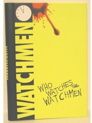 Watchmen Who Watches The Watchmen Hardcover Spiral Journal, New