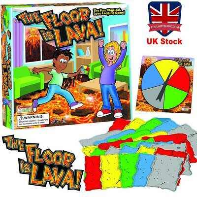 The Floor is Lava! Interactive Board Game for Kids Adults Xmas Gift (Ages 5+)Fun