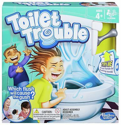 Toilet Trouble From Hasbro Gaming - 2+ Players.