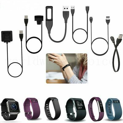 USB Charger Cable FitBit Flex One Charge Alta HR Blaze Surge Ionic Versa Inspire