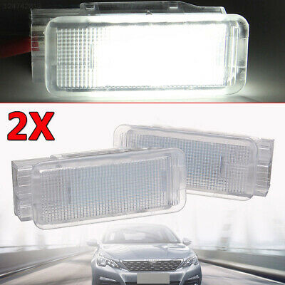 8D6D 1pc Trunk Lamp LED Luggage Light Durable White Luggage Light Compartment
