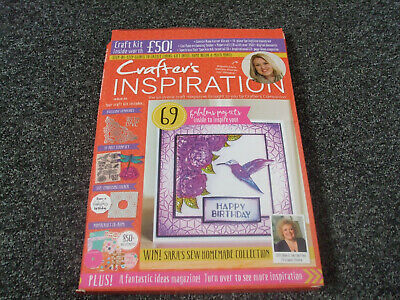 Crafter's Inspiration issue 22, cd and one free gift.