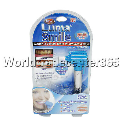Luma Smile Dental Teeth Whitening Burnisher Polisher Whitener Stain Remover