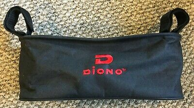 Diono Buggy Buddy Stroller Organizer BLACK VACATION TRIPS CUP HOLDER PHONE KEYS