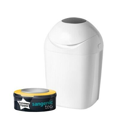 Poubelle à couches Tommee Tippee Sangenic Tec + Recharge