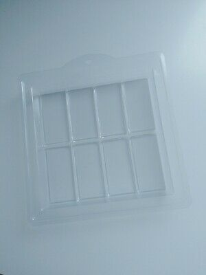 8 Cavity Soap Mould Mold clear