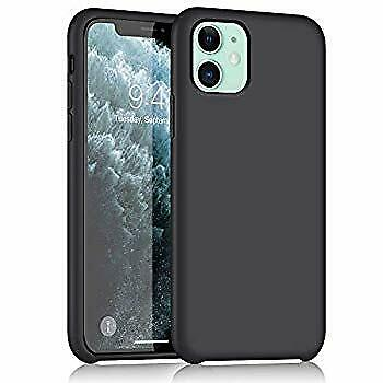 iPhone 11 Silicone Case, Liquid Silicone Gel Rubber Ultra Thin Case with Soft Mi
