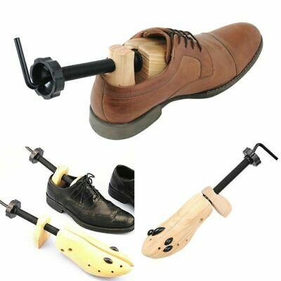 Wooden Shoes Stretcher Expander Shoe Timber Unisex Bunion Plugs 2-Ways