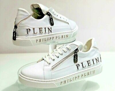 Philipp Plein Razor White Sneakers