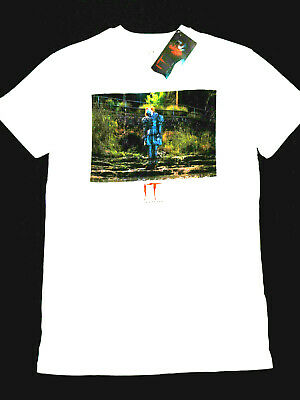 It Official Chapter Two T-Shirt Wh Cotton Short Sleeve Mens Ladies Bnwt Primark