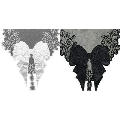 1 Pc Bow Tie Collar Embroidery Lace Trim Ribbon Sewing Dress Cloth Supply Decor