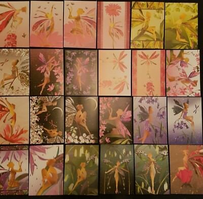 Hunkydory little books- midnight fairies- 24 sheets