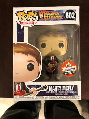 Marty McFly Funko Pop #602 Back to the Future Canada Expo Exclusive Brand New