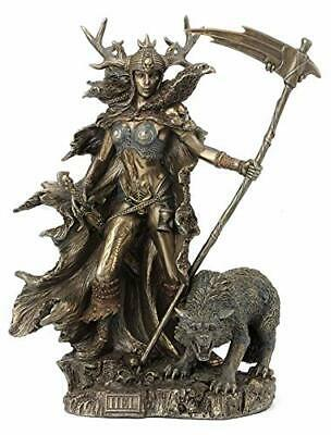 Norse Goddess Hel of the Underworld Statue  - Mythology Sculpture Figure