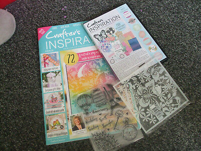 Crafter's Inspiration issue 21, cd and two free gifts