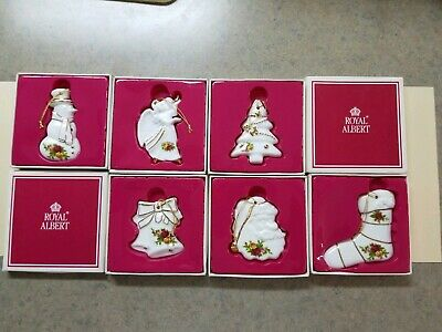 Royal Albert Old Country Roses Christmas Ornaments