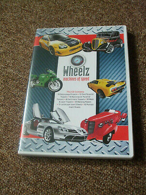 Wheelz  cardmaking cd by Kraftyhands