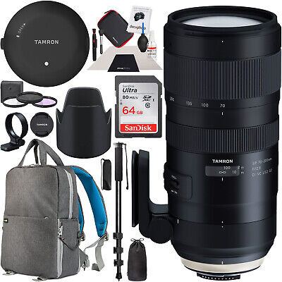 Tamron SP 70-200mm F/2.8 Di VC USD G2 Canon EF Lens + TAP-In Console Pro Bundle