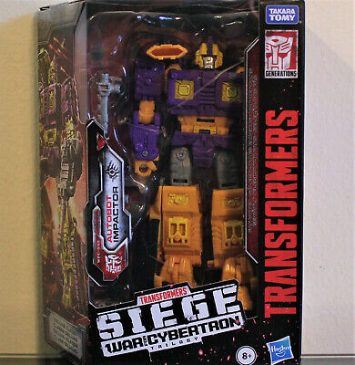 Transformers Siege WFC-S42 Autobot IMPACTOR, Fan-Voted Deluxe, MISB/New (2019)