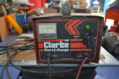 Clarke Start And Charge 160 Battery Charger.used.