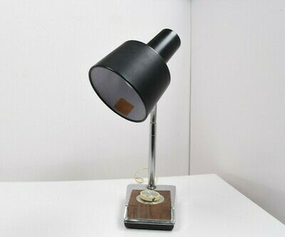 Vintage Underwriters Laboratories Goose Neck Dimmer Desk Lamp