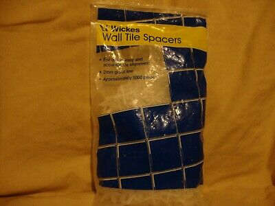 WICKES WALL TILE SPACERS 2mm Grout Line   Pack of 1000