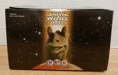 joking Jar Jar Binks Star Wars Episode 1 Tacobell KFC Pizza Hut 1999 101019DBT2