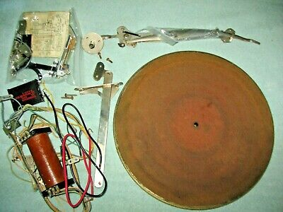 Antique Victrola Talking Machine In Suitcase Victor Portable Player Parts Repair