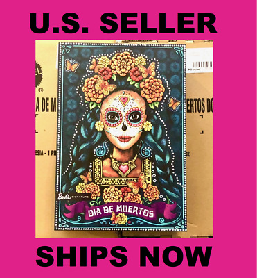 Barbie Dia De Los Muertos Doll FXD52 Day of Dead U.S. Seller SHIPS NOW