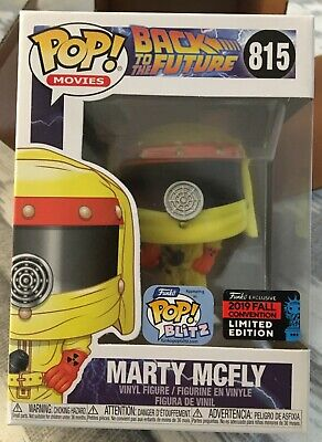 Funko Pop! Back To The Future Marty McFly 2019 NYCC Shared Exclusive *IN HAND*