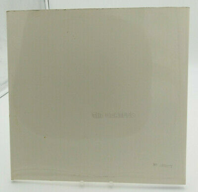 THE BEATLES-numbered white album-No.0405677-double vinyl-stereo-apple-uk -1968