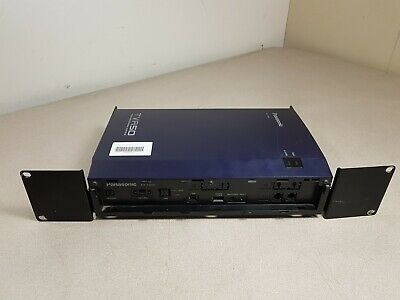 Panasonic TVA50 Voice Processing System KX-TVA50 with Mounting Brackets UTW