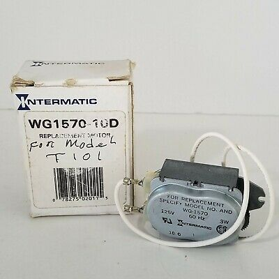 Intermatic WG1570-10D 125V 60-Hertz  Replacement Time Clock Motor for T100
